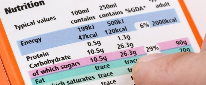 Calorie targets to be introduced by PHE