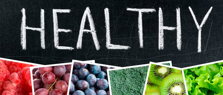 Become healthier by eating a rainbow diet