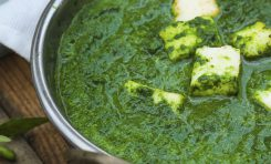 Spinach with Paneer