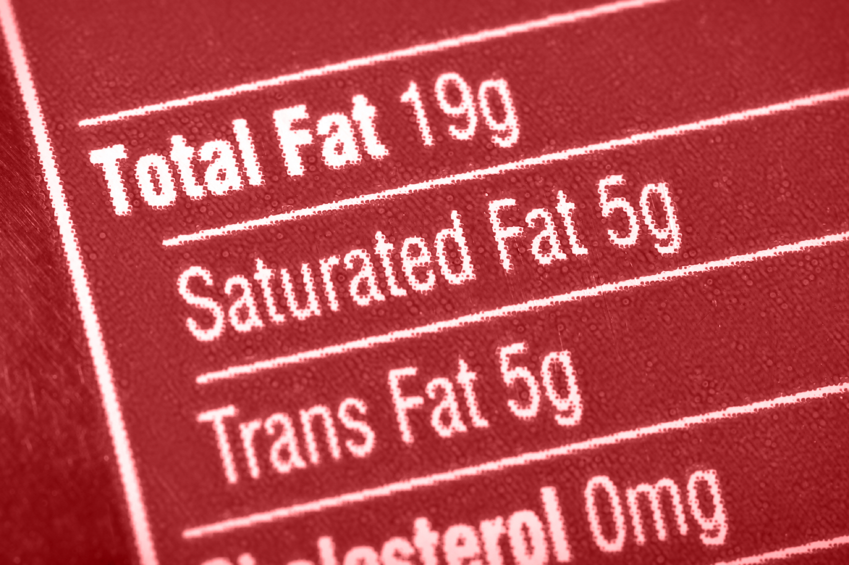 Urge for Industrial Trans Fats to be Removed from Food Supply